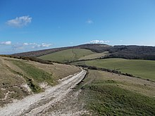 A view over the West Wight